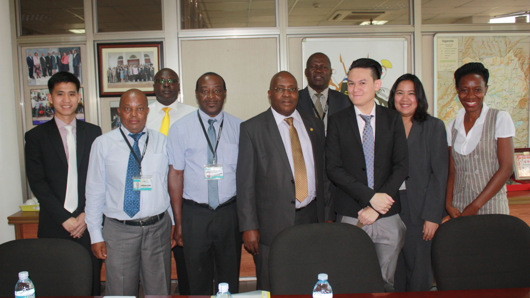 UIA meets officials from the Fiscal Policy Research Institute