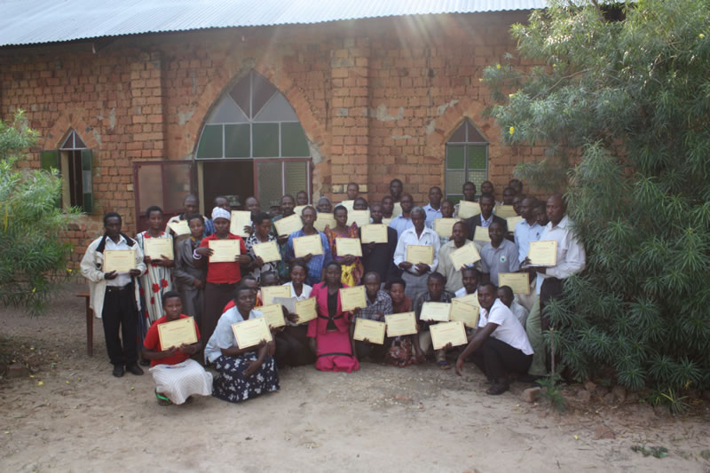 Soap production training in Kanungu district
