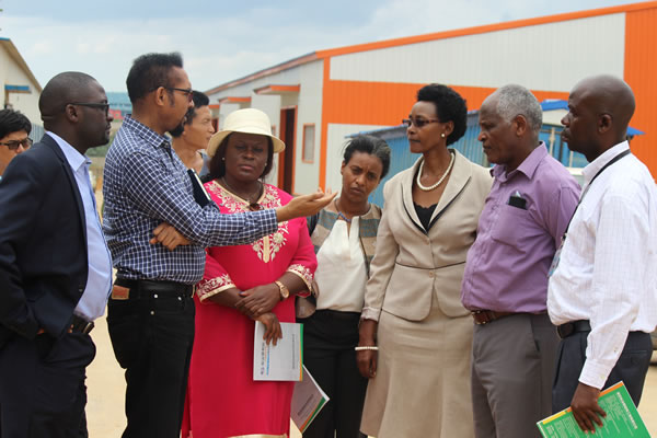 Ethiopian Minister Visits Kampala Industrial and Business Park