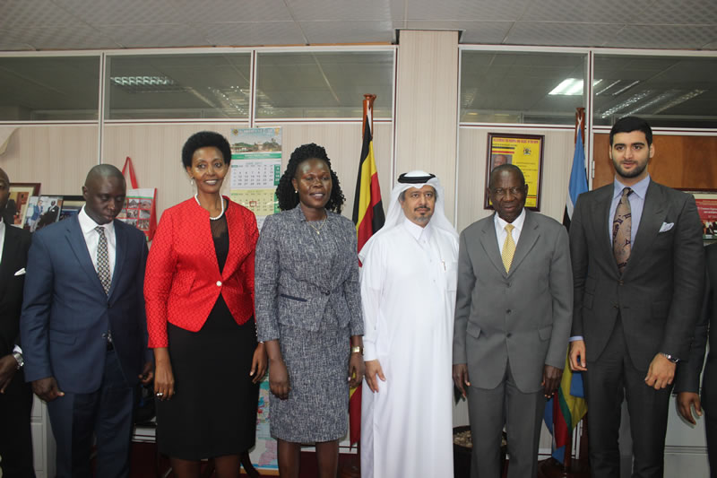 High level delegation visits from Qatar
