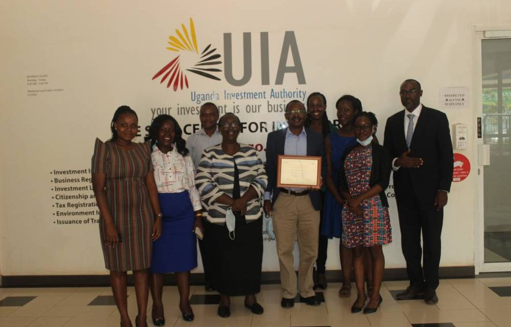 Chief Internal Auditor of the UIA with staff